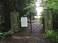 Croxdale Hall entrance gates - geograph.org.uk - 1395469.jpg