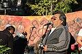 Cuauhtémoc Abarca. Ceremonia conmemorativa 30 años de los Sismos de 1985 Reloj de Sol, Tlatelolco. 11.JPG