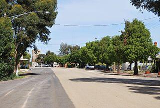Culgoa Town in Victoria, Australia