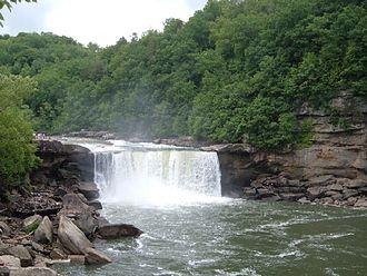 Corbin, Kentucky - Cumberland Falls, 2005