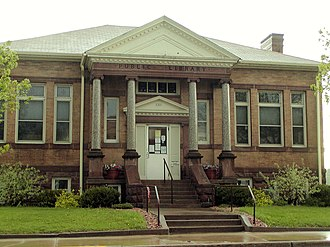 National Register of Historic Places listings in Barron County, Wisconsin - Image: Cumberland Public Library
