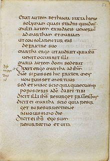 St Cuthbert Gospel - Wikipedia