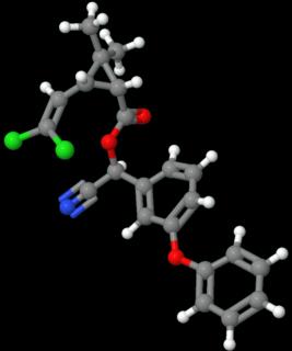 Cypermethrin Chemical compound
