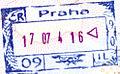 Czech pre Schengen razitko Ruzyne 2004.jpg