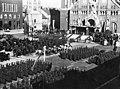 Dóm tér. Katonai díszszemle 1937. június 18-án, Horthy Miklós kormányzó 69. születésnapja alkalmából. Fortepan 77841.jpg