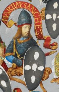 D. Martim Sanches, filho bastardo de D. Sancho I - The Portuguese Genealogy (Genealogia dos Reis de Portugal).png
