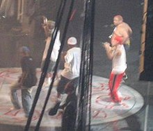 D12 at the Anger Management tour in 2005