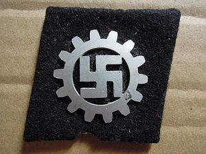 German Labour Front - A DAF Raute (diamond).