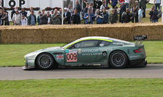 Aston Martin Racing - Aston Martin Racing's DBR9 which won the 2007 24 Hours of Le Mans LMGT1 Class