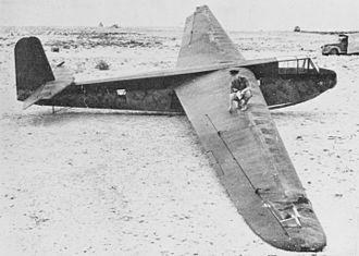 Battle of Fort Eben-Emael - German DFS 230 troop-carrying glider