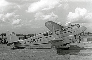 Brush Traction - de Havilland DH.89 Dominie built by Brush in April 1945 for the RAF
