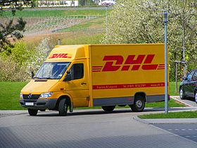 illustration de DHL