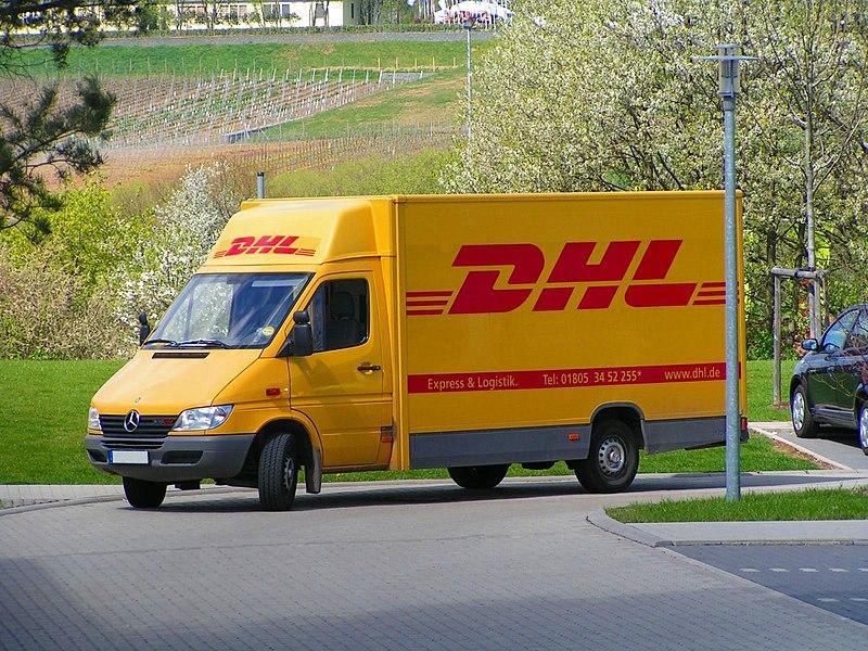 File:DHL-Fahrzeug.jpg
