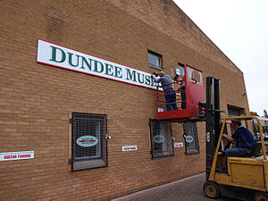 Dundee Museum of Transport - Image: DMOT Sign