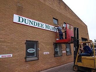 Dundee Museum of Transport - Image: DMOT Sign
