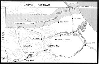 Demilitarized zone Area in which agreements between military powers forbid military activities