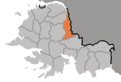 Location of Chaeryŏng County