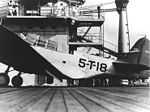 Damaged TBD of VT-5 on USS Yorktown (CV-5) in 1940.jpg