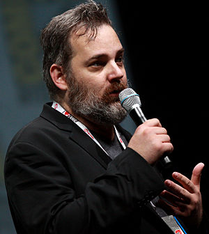 Rick and Morty - Creators Dan Harmon (left) and Justin Roiland