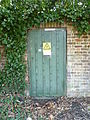 Danger of Death door, Monken Hadley.JPG