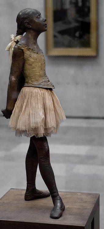 degas ballerina sculpture - 736×1620