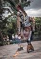 Danza del Fuego performance outside Museo Nacional de Antropología, Chapultepec, CDMX 01.jpg