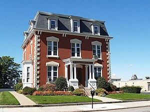 David M. Anthony House (Fall River, Massachusetts) - Image: David Anthony House