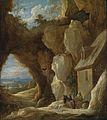 David Teniers de Jonge - De heiligen Antonius en Paulus in de woestijn.jpg