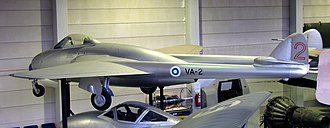 De Havilland Vampire - Finnish Air Force De Havilland Vampire Mk.52
