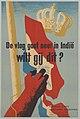 De vlag gaat neer in Indië wilt gij dit? - Nationaal Comité Handhaving Rijkseenheid - 1947.jpg