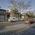 De voorgevel van de synagoge te Enschede tijdens de restauratie - Enschede - 20338430 - RCE.jpg