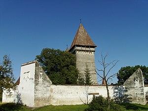 Merghindeal - Image: Dealu Frumos Fortified Church II