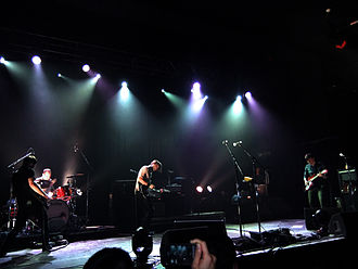Barsuk Records - Image: Death Cab for Cutie at Manchester Academy, 4 July 2011