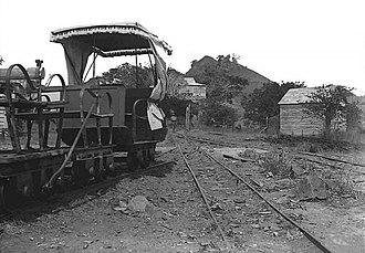 Decauville railway at Diégo Suarez - Decauville passenger carts
