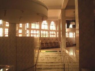 Kartalab Khan Mosque - Decoration on east side