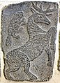 Deer. Orthostat, basalt relief. From the West Palace in Tell Halaf, Syria, 9th century BCE. Pergamon Museum, Berlin, Germany.jpg