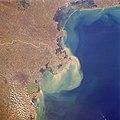 Delta Po e laguna Venezia visti dallo spazio, 1984.JPEG