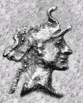 Demetrius III Aniketos - Portrait of Demetrius III.