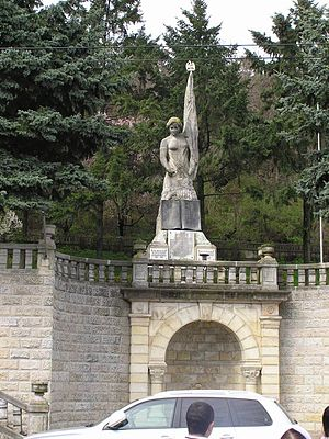 Râmnicu Vâlcea - Romanian War of Independence monument (erected 1915)