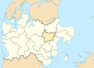 Favrskov Municipality - Image: Denmark Central Jutland Farvskov