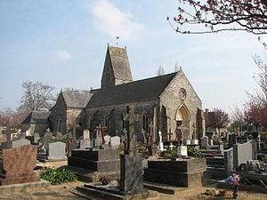 L'église Saint-Rémi.