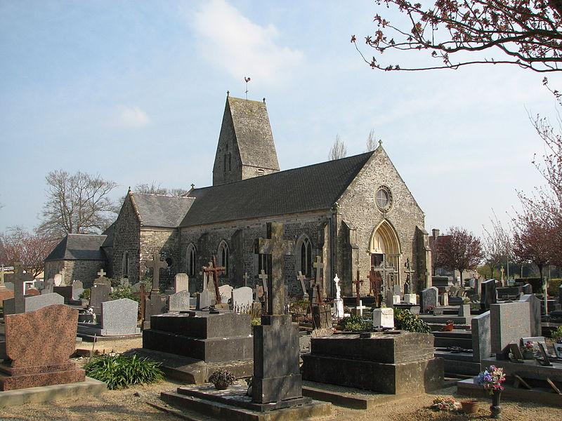 Eglise de Denneville, Manche, NormandieDenneville churche, Normandy