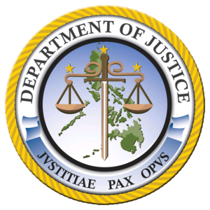 Cabinet of the Philippines - Image: Department of Justice (Philippines)