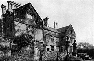 Charles Balguy - Charles' birthplace – now under the Derwent Dam
