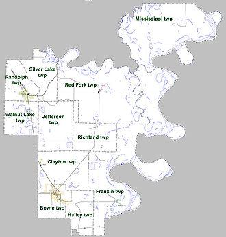 Desha County, Arkansas - Townships in Desha County, Arkansas as of 2010