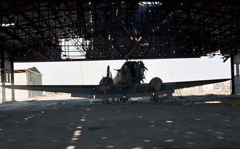 Destroyed Douglas C-47 of IIAF.jpg