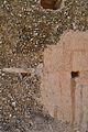 Detall de la tàpia de la torre d'Almudaina.JPG