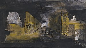 Graham Sutherland - Devastation, 1941: An East End Street (Tate)