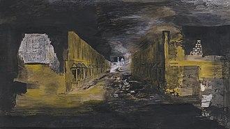 Graham Sutherland - Devastation, 1941: An East End Street (Tate)