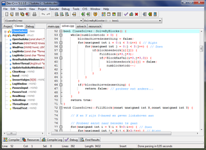 Screenshot di Dev-C++